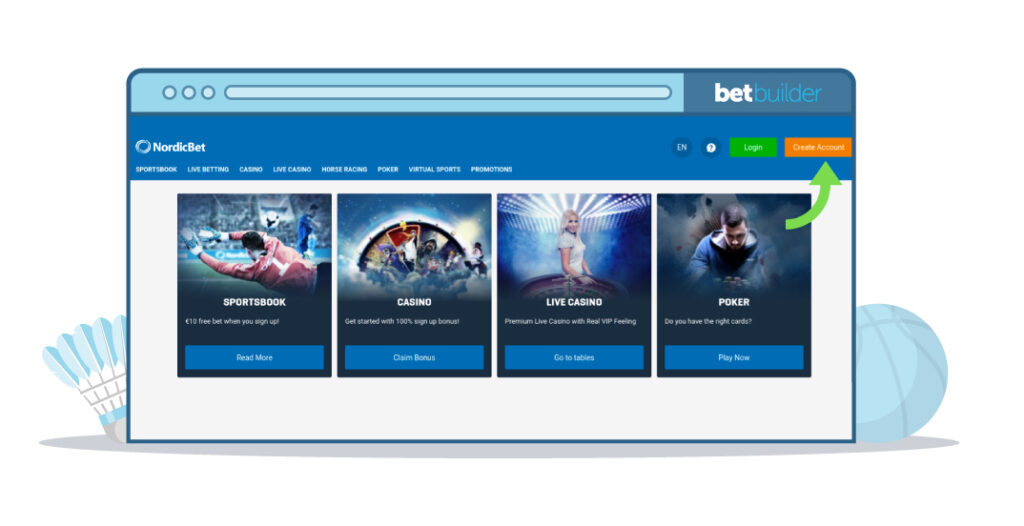Nordicbet - Betting on Football