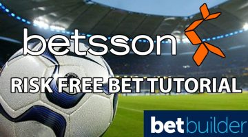 Risk free bet tutorial betsson