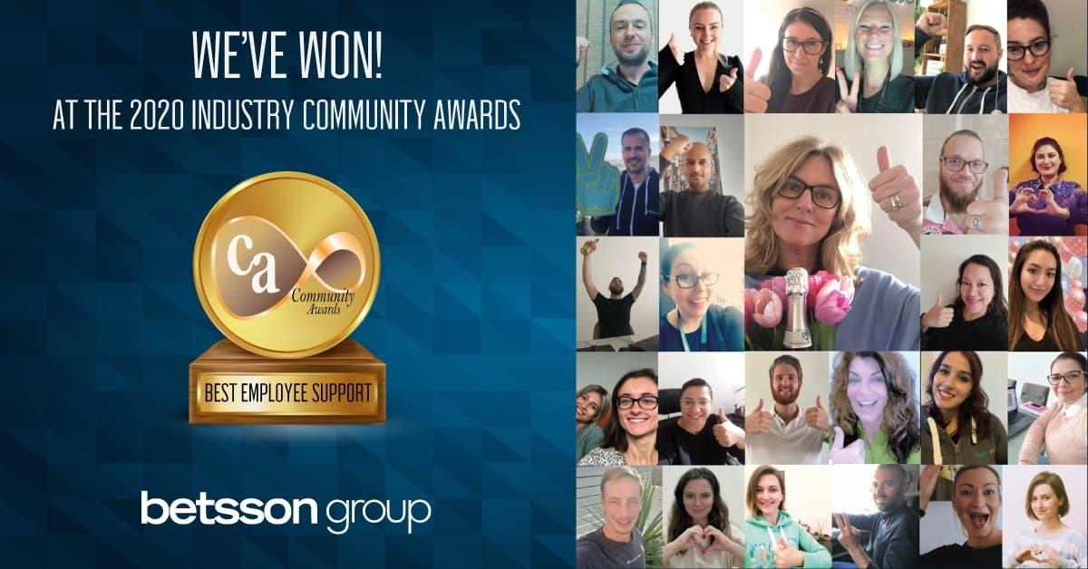 Betsson Group Casinomeister Awards